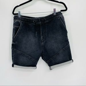 Zara man soft denim shorts Medium
